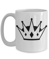 Crown Coffee Mug for King or Queen - Coffee Mug for The Royal Queen or King - GuysandGirlsGeneral