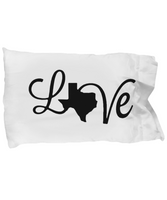 Texas Love Strong Personal Pillow Case Christmas Gift!