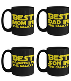 STAR WARS FAMILY 4 Pack Gift Coffee Mug Set!- BLACK FRIDAY SALE