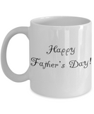 Happy Father's Day Dad Father's Day New Dad Coffee Mug Gift for Dads - GuysandGirlsGeneral