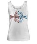 I'm The Firecracker Your Mother Warned You About Sexy Tank Top for Women | Josh Turner Firecracker T-Shirt Tank Top | Country Jam 2018 Apparel - GuysandGirlsGeneral