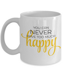 The Perfect Christmas Holiday Coffee Mug Gift For Happy People!