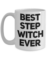 Best Step Witch Shout Out Funny Coffee Mug!