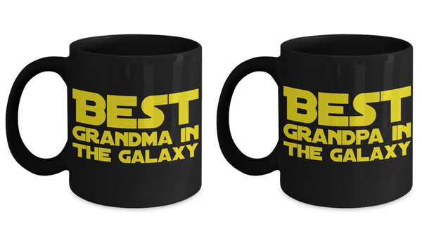 STAR WARS Couple (Grandpa/Grandma) Coffee Mug Gift Set!- BLACK FRIDAY SALE