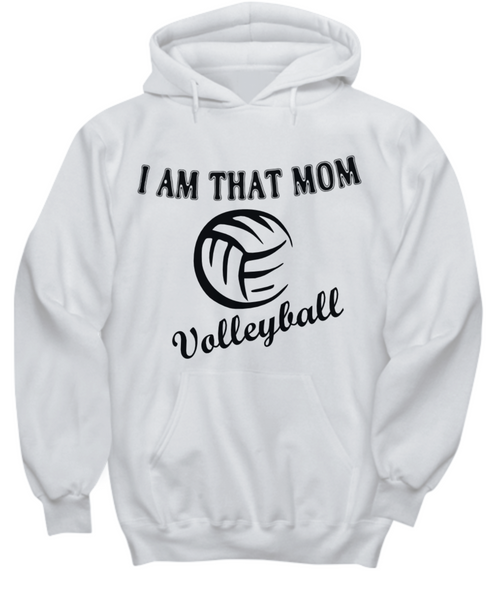 Volleyball Moms Hoodie and T-Shirts Show Your Support!