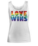 Love Wins- LGBT- Pride Tank Top- LGBT Tank Top for Women- Love Wins