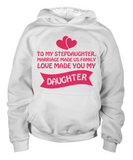 ❤ Stepdaughter Love Personal T-Shirt Makes The Perfect Christmas Gift! ❤