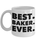 Perfect Gift Coffee Mug For Favorite Baker! Holiday Christmas Birthday Gifts