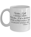 Perfect Christmas Holiday Faith Gift Coffee Mug for The Believer!