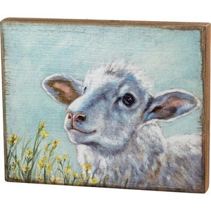 Box Sign - Sheep