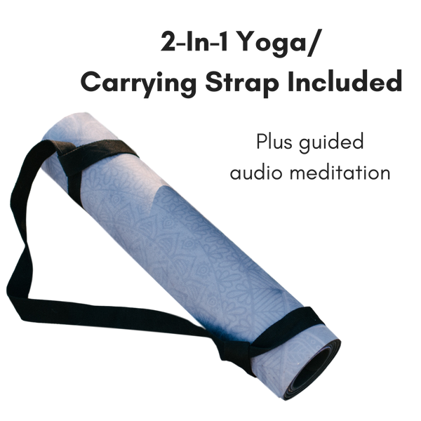 MamaRoo Yoga Mat 2-In-1 Yoga/Carrying Strap Included