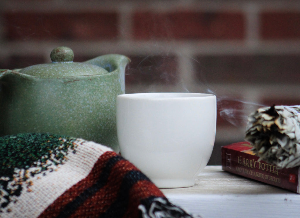Anti-Inflammatory Spice Tea with Harry Potter Book