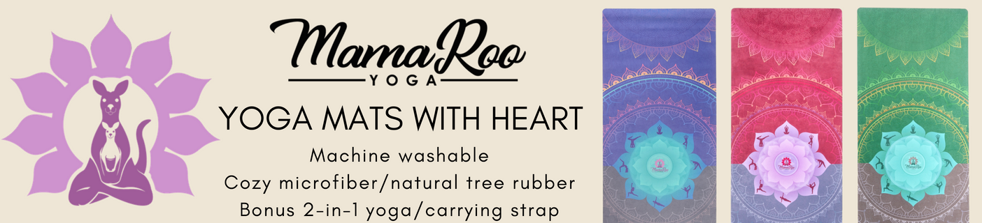 MamaRoo Yoga Mats with Heart