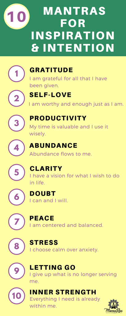 10 Morning Mantras for Inspiration and Intention