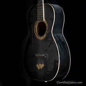 Vintage 1920s-30s Regal Le Domino Acoustic Guitar - Early X-Bracing - Luthier Project