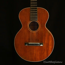 Vintage 1926 Gibson L1 Flattop Acoustic Guitar with Rare Amber Finish - Excellent with Recent Luthier Set-Up