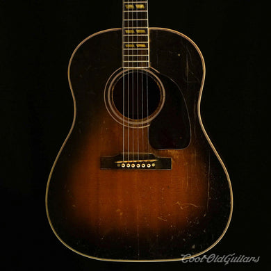 Vintage 1949 Gibson Southern Jumbo Acoustic Guitar - Great Player with Soul - Recent Luthier Set-Up