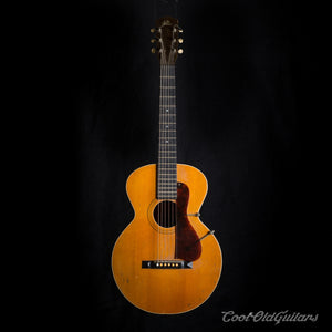 Vintage 1926 Gibson L1 Acoustic Guitar - Rare First Flattop Model w Arched Back