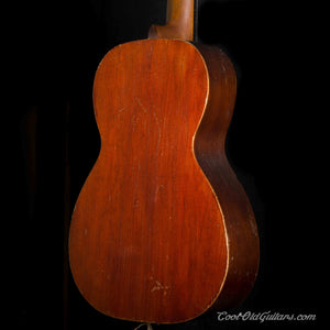 Vintage 1890s-1910s Lyon & Healy style Flattop Acoustic Parlor Guitar