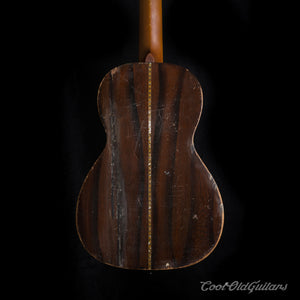 Vintage 1880s-1910s Lyon & Healy style American Parlor Guitar