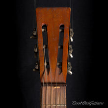 Vintage 1890s-1910s American Parlor Guitar with Tailpiece - Adirondack Spruce Top - Figured Mahogany