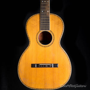 Vintage 1910s-20s Lyon & Healy Lakeside Acoustic Parlor Guitar with Brazilian Rosewood
