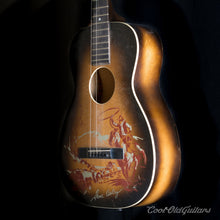 Vintage 1940s-50s Supertone Gene Autry Acoustic Guitar with Kluson Tuners - Excellent Condition