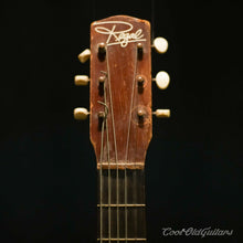 Vintage 1950s-60s Regal Sunburst Parlor Acoustic Guitar