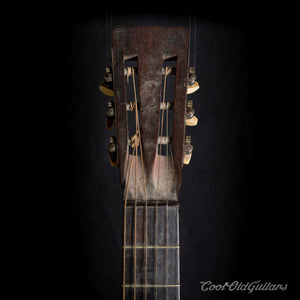 Vintage Early 1900s Elbel Brothers Antique Parlor Guitar with Brazilian Rosewood