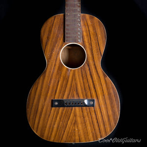 Vintage 1930s Regal Acoustic Slide Guitar - Hawaiian Steel String