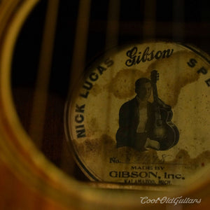 Vintage and Rare 1929 Gibson Nick Lucas Special Acoustic Guitar with OHSC