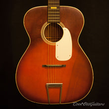 Vintage 1950s Silvertone OM-Sized Acoustic Guitar - Excellent w Orig Box