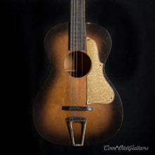 Vintage 1920s-30s First National Institute Allied Arts Acoustic Guitar with Waverly Tuners