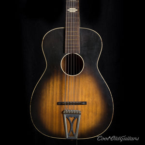 Vintage Stella Acoustic Guitar 1950s-60s with Vintage Waverly Tuners