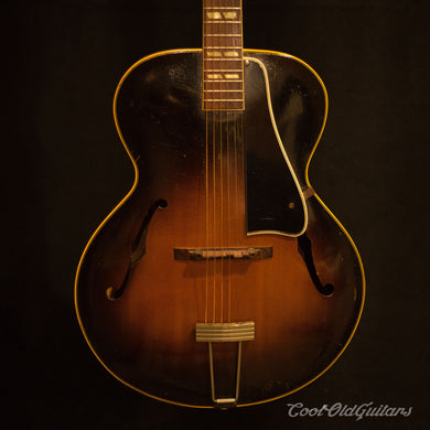 Vintage 1952 Gibson L4 Archtop Acoustic Guitar