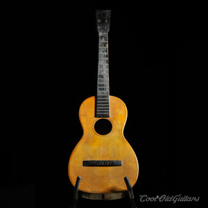 Mid-Late 1800s Antique American Acoustic Parlor Guitar