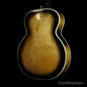 Vintage 1950s-60s Harmony Archtop Acoustic Guitar