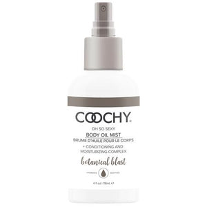Coochy Body Oil Mist Botanical Blast 4 fl.oz - Zinful Pleasures