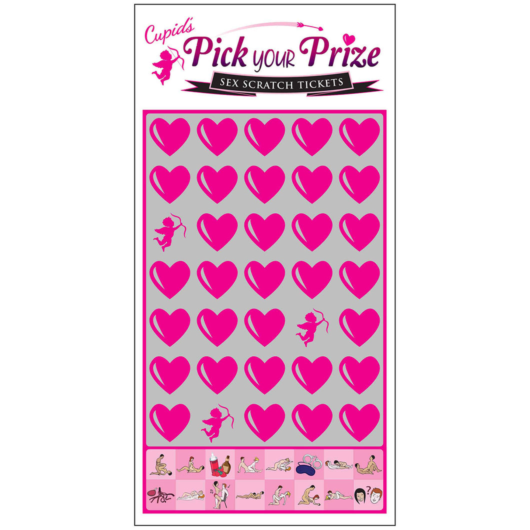 Cupid's Pick Your Prize Scratch Ticket
