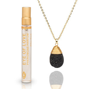 Eye of Love Drop Necklace - Gold - After Dark 10ml