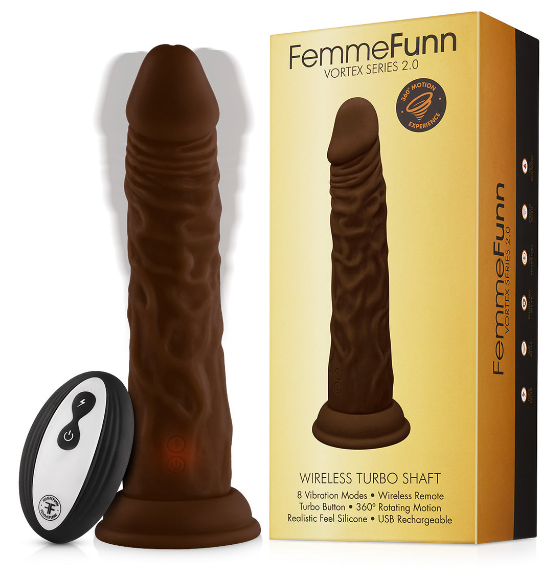 Femme Funn Wireless Turbo Shaft - Brown