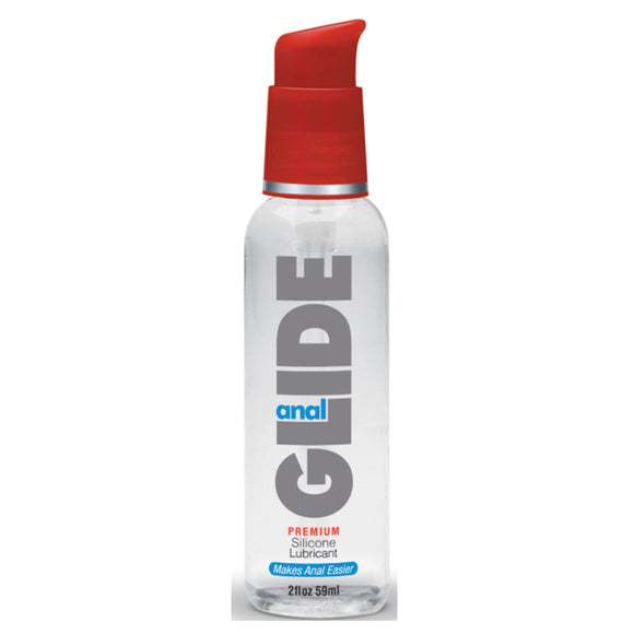 Anal Glide Extra Silicone Lube 2oz