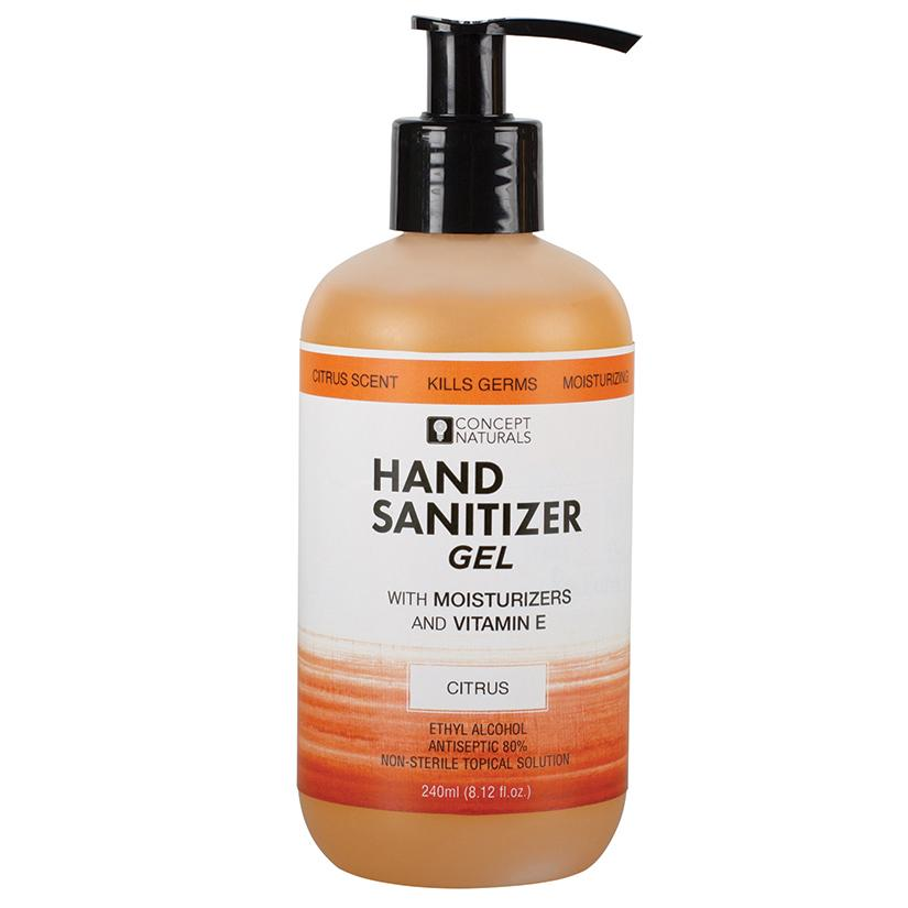 Concepts Naturals Hand Sanitizer Citrus 8.12 oz