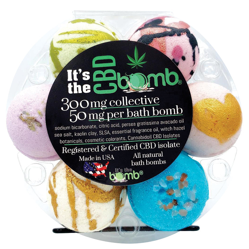 It's the CBD Bath Bomb ~ 300 mg per pack