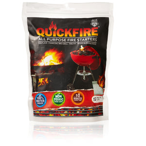 "Brads Deals 12 Piece Quickfire Emergency Pack ""$7.00 DISCOUNT APPLIED AT CHECKOUT"""