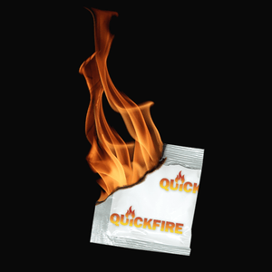 50 PC Tube QuickFire All Purpose Firestarters - QuickFire US