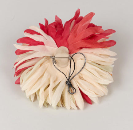 INDRESS Large Multicolour Anemone Brooch/Hairpiece
