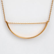 Hirotaka 10K Yellow Gold Adjustable Bow Necklace