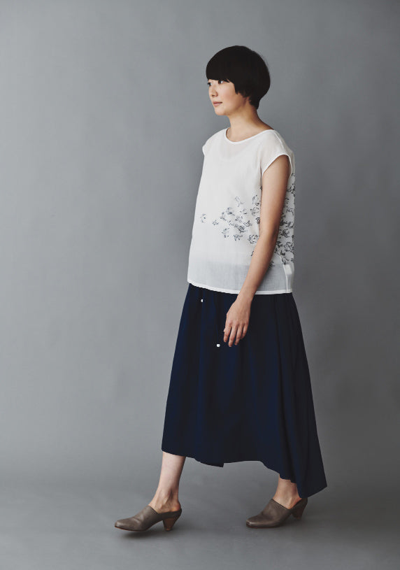 Mina Perhonen Cosmos Skirt Blue