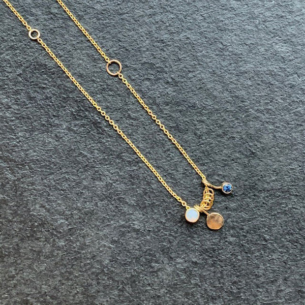 Jane Hollinger 14 Karat Yellow Gold Elayna Necklace